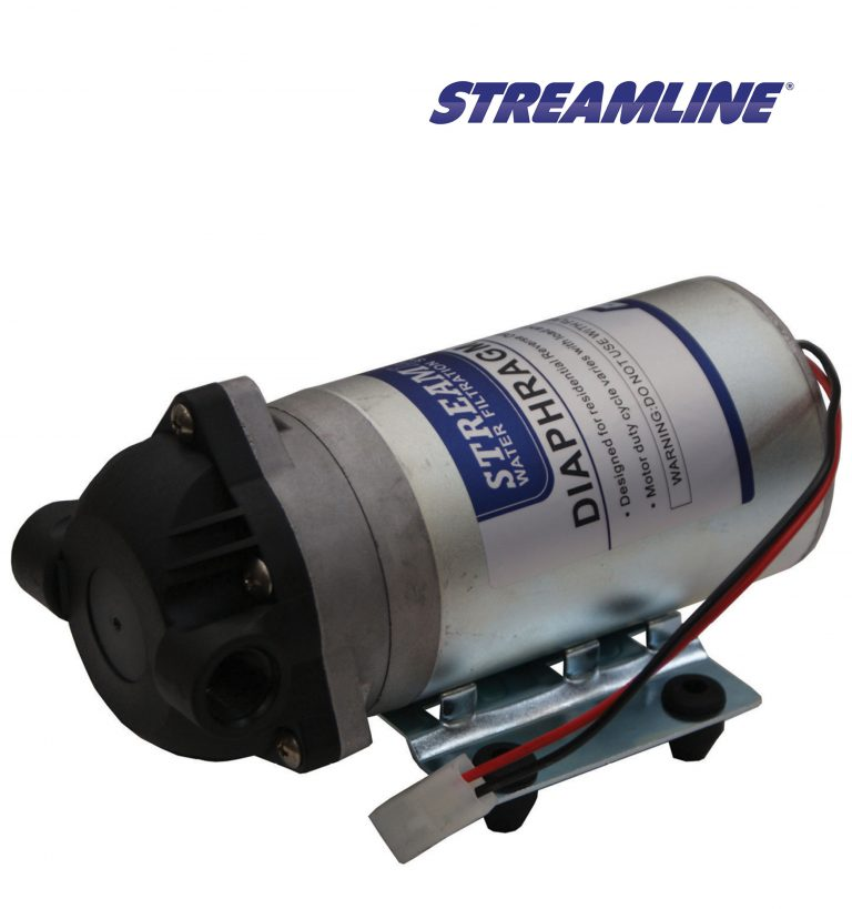 24V Booster Pump with single head