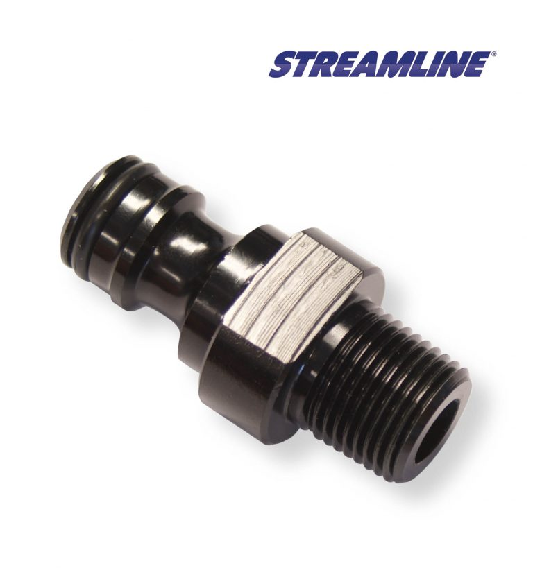 Aluminium Male Adaptor with 3/8inch F thread