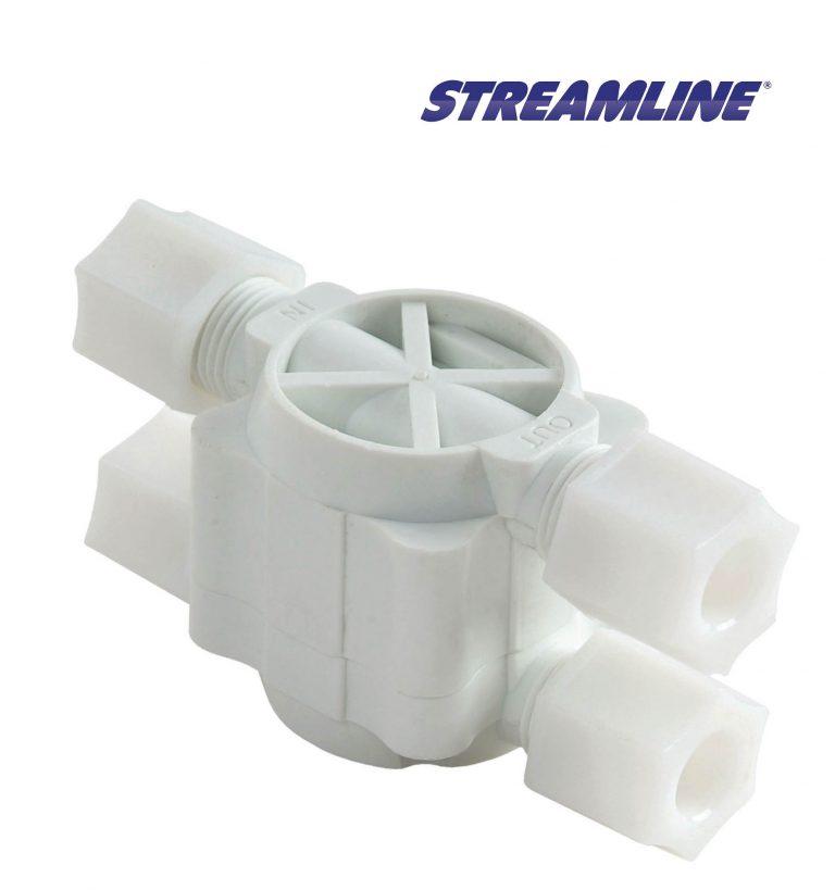 Shut off valve 3/8 inch complete