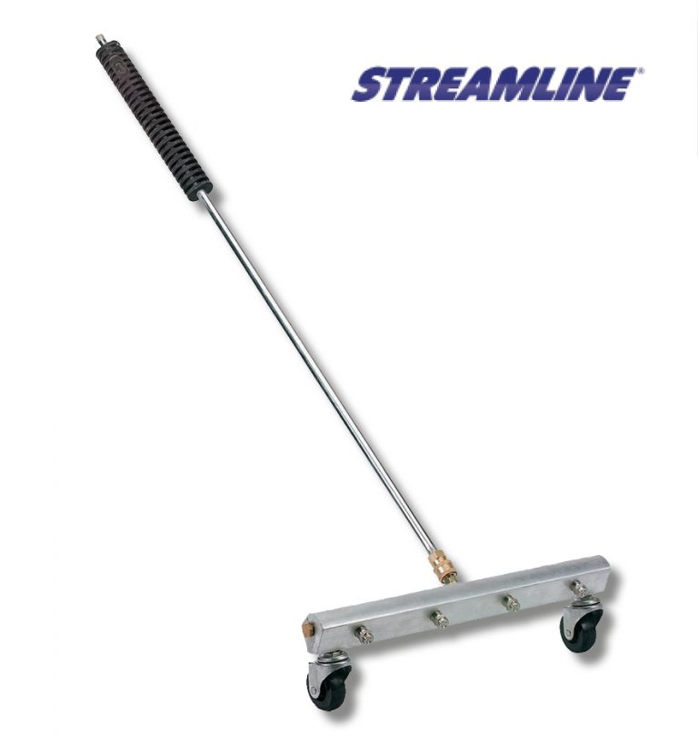 16 INCH (400mm) 4-NOZZLE WATER BROOM WITH GUN & LANCE