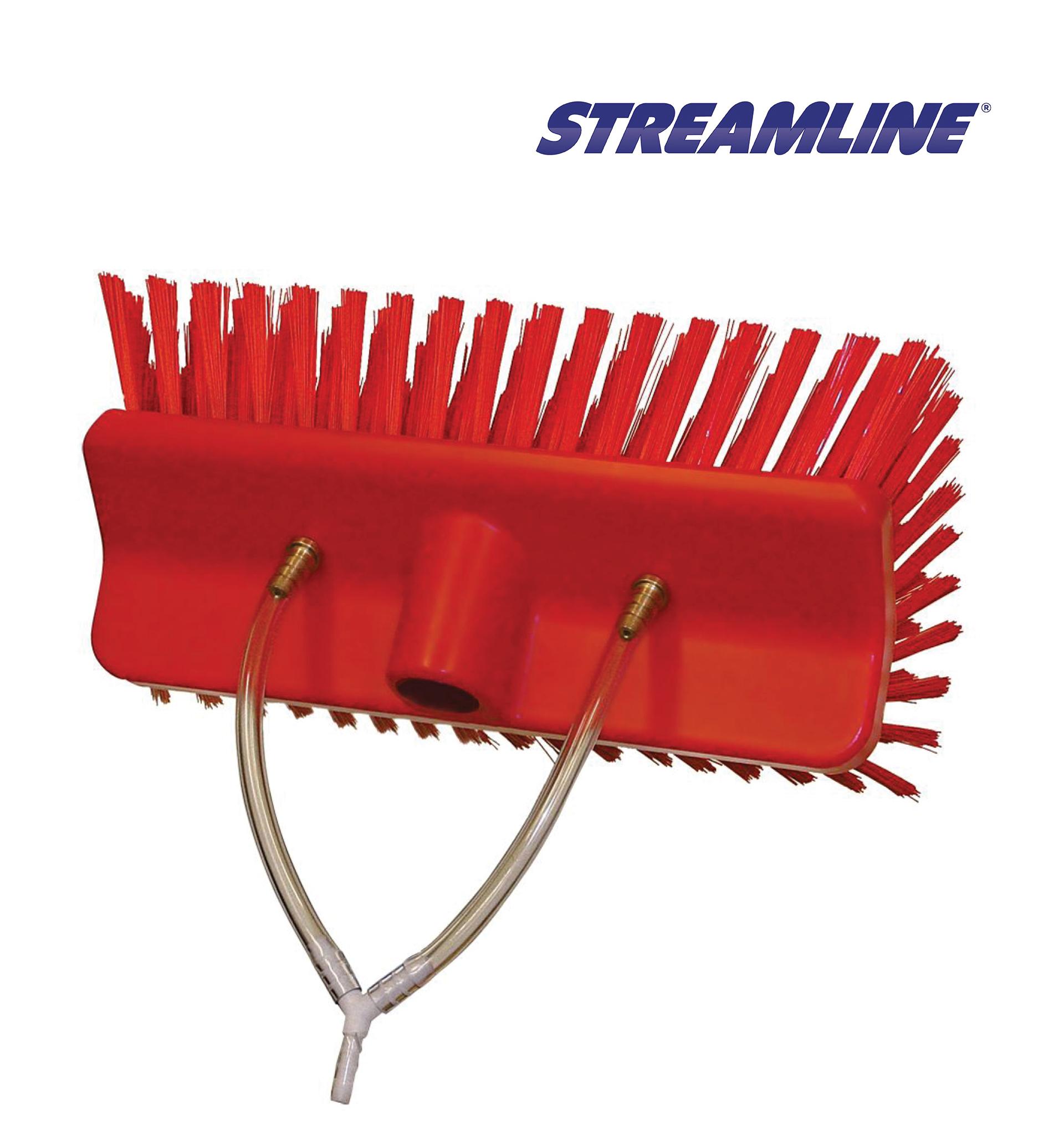 Vikan Stiff Hi Lo Brush 9 5inch 245mm Varitech Systems