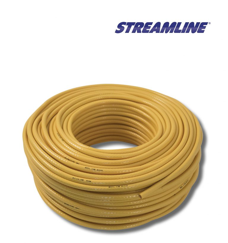 Ecoline™ 6mm Minibore Hose - 100mtr yellow