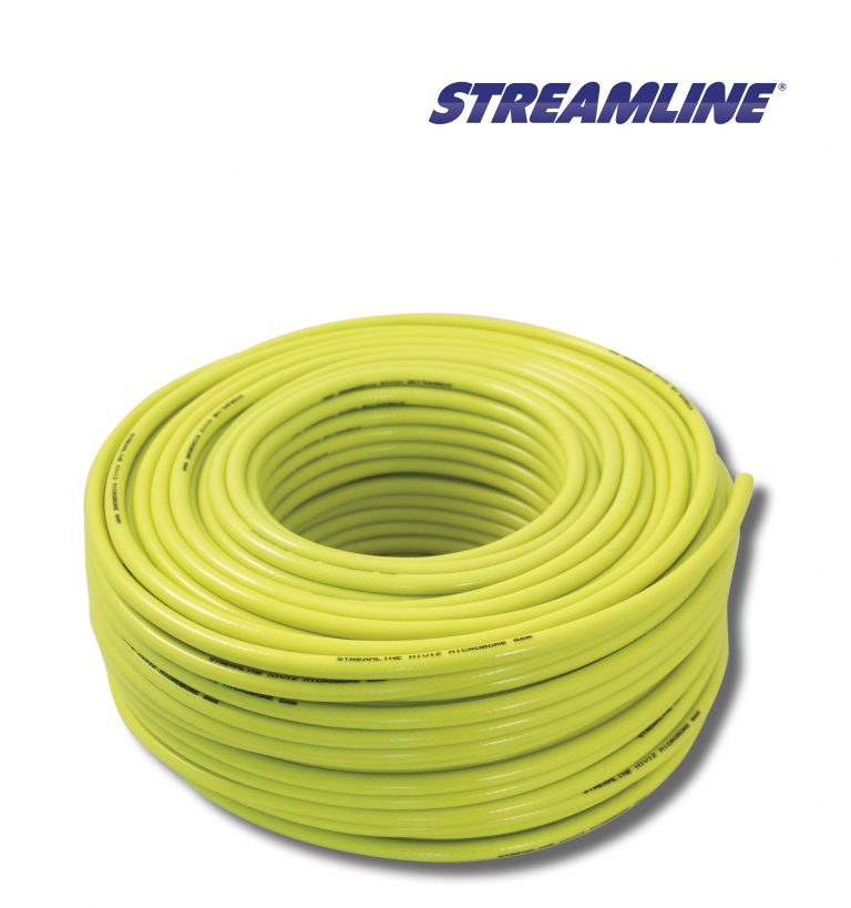 Streamline® 6mm Minibore Hose - 100mtr Hiviz
