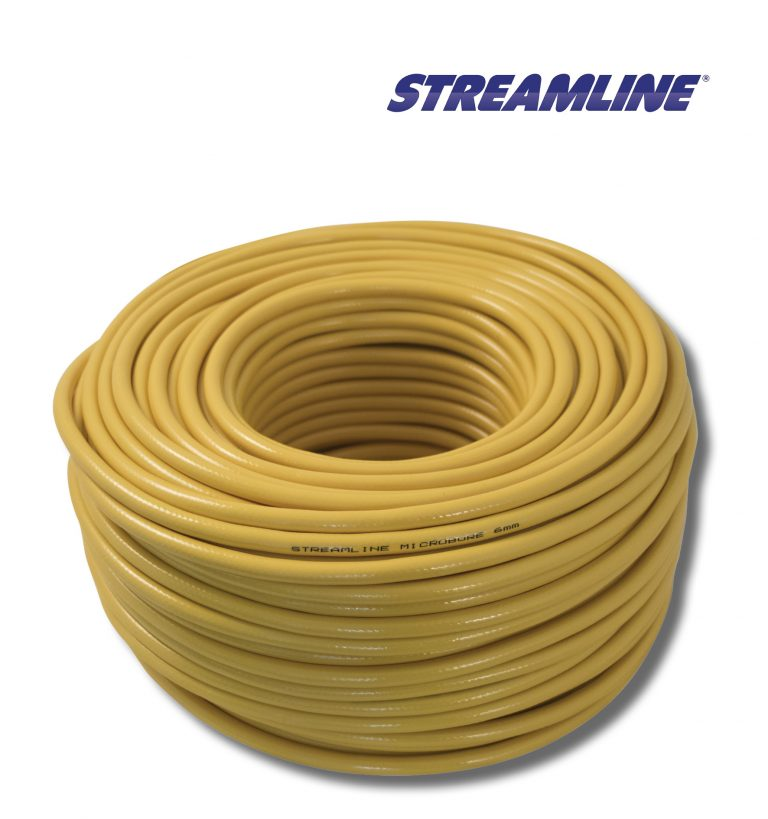 Streamline® 6mm Microbore Hose - 100mtr yellow