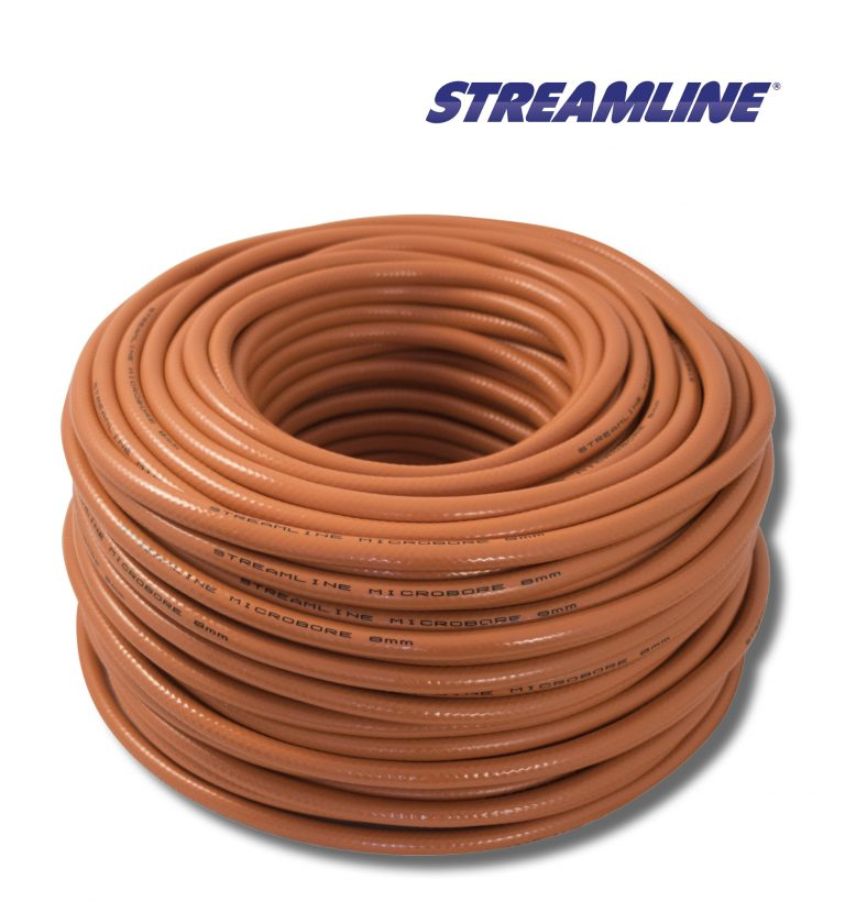 Streamline® 8mm Minibore Hose - 100mtr Orange