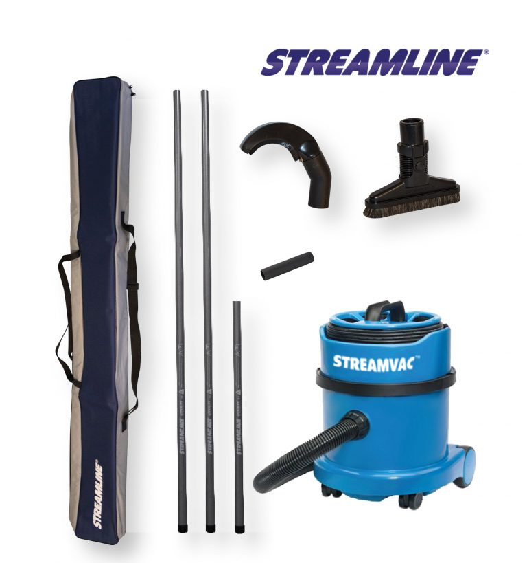 230V Powered Streamvac™ Internal Dusting Cleaning System - 5.5mtr (18ft)
