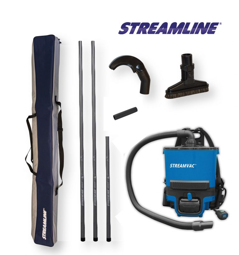 Battery Powered Streamvac™ Internal Dusting Cleaning System - 5.5mtr (18ft)