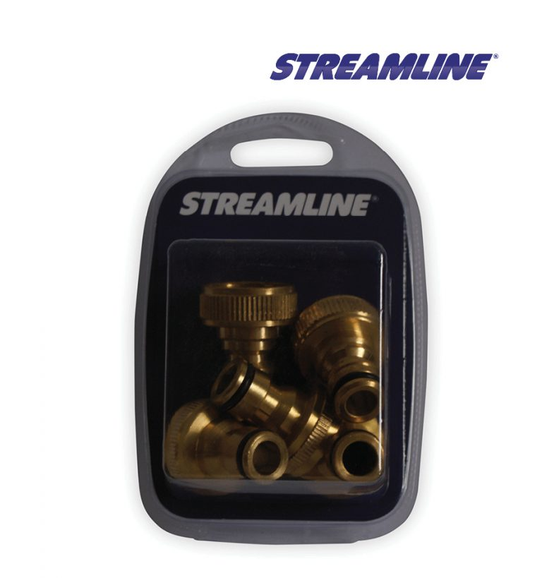 Merchandised Brass Top Adaptor 3/4inch F