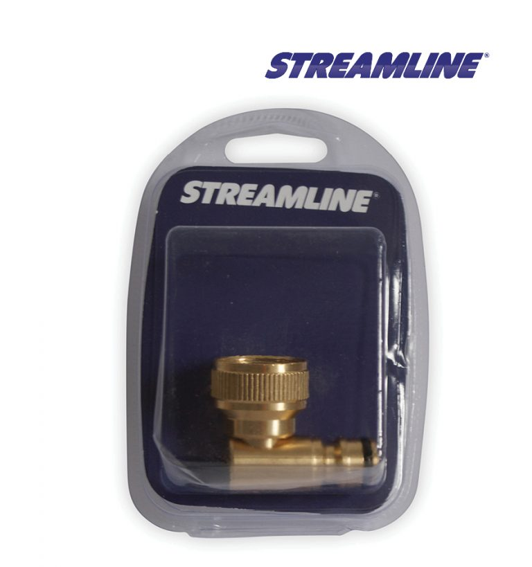 Merchandised Brass Swivel Inlet Quick Connector 3/4inch F