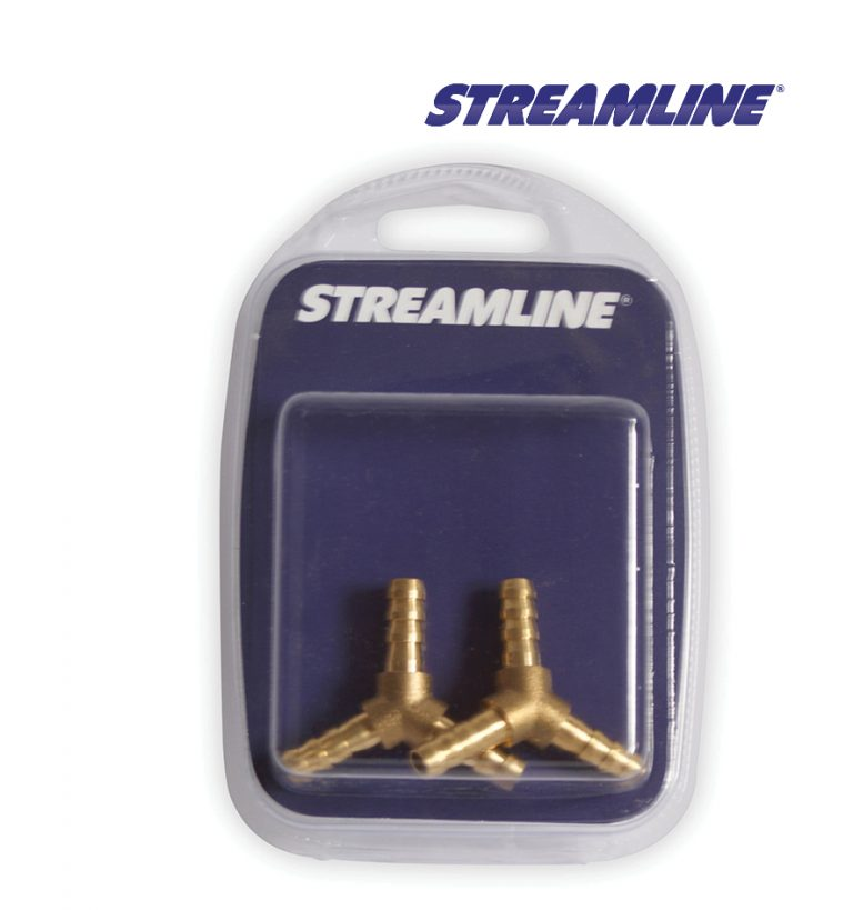 Merchandised Brass 6mm Y-Piece