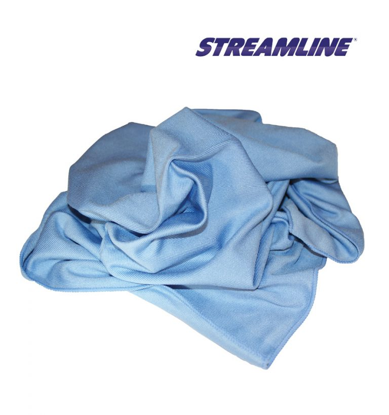Microfibre Glass Polishing Cloth 60cm x 80cm (Blue)