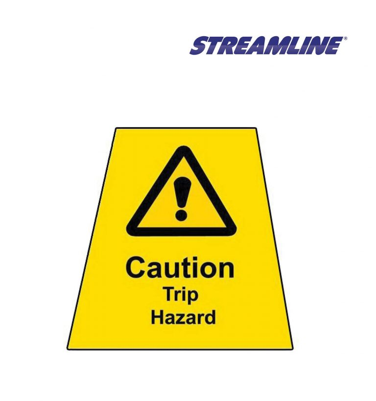Trip Hazard MINICONE Label