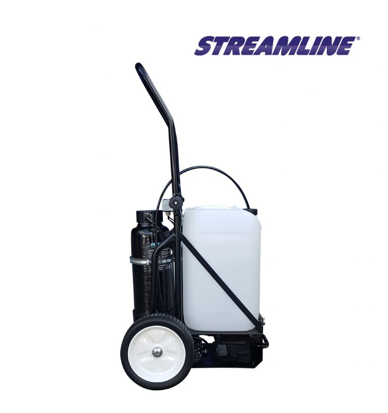 STREAMFLO-25™ Portable Trolley System - 25ltr (NEW Rechargeable Battery for 2019)
