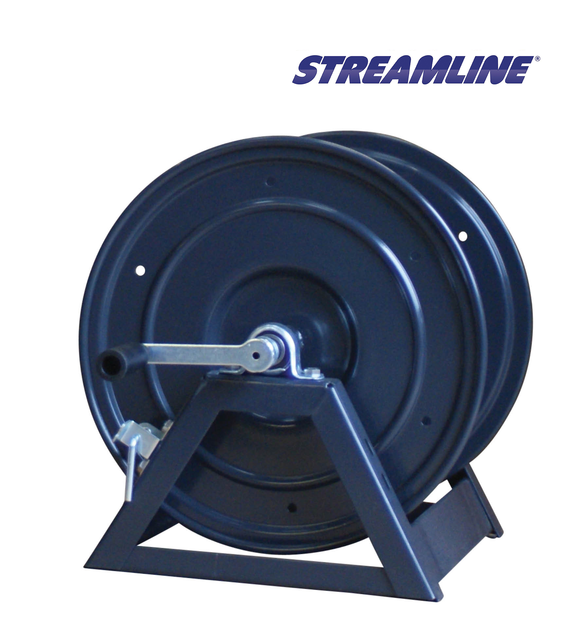High Pressure A Frame Hose Reel Suitable For 90mtr 300ft