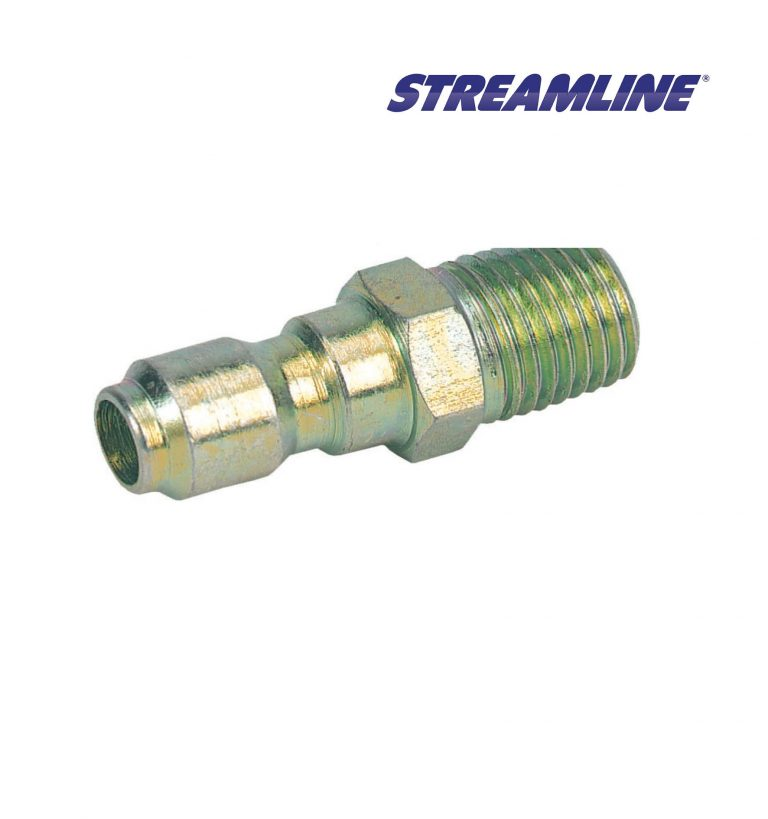 High Pressure 1/4inch Male Quick Disconnect coupling, with 1/4inch Male Thread