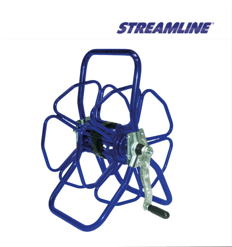 Freestanding metal hose reel - HRM2