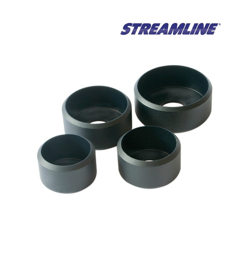 Rubber P-BUTT Base Caps, suitable for STREAMLINE® XTEL Poles