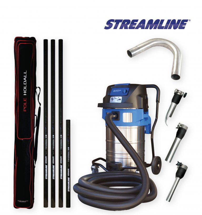 70ltr Streamvac™ Residential Height Gutter Cleaning System Complete - 5.5mtr