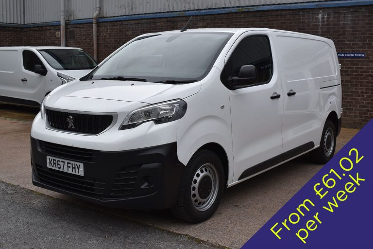 Peugeot Expert Window Cleaning Van - Dual Operator