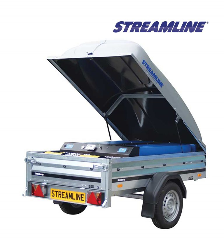 STREAMLINE® SMARTANK® Window Cleaning Trailer Systems - 400LTR