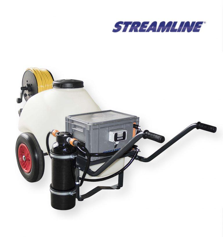 STREAMFLO-120™ Portable Barrow System - 120ltr