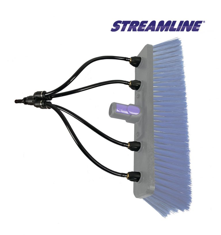 STREAMLINE® Twist & Lock Nozzle Fan Jets - pack of 4 - suitable for all STREAMLINE® brushes