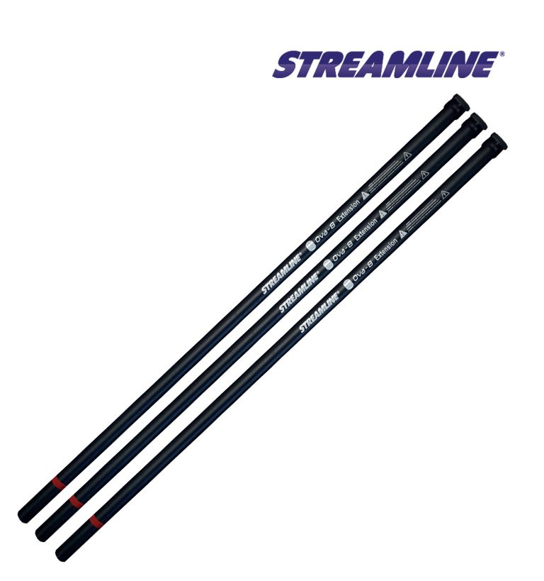 STREAMLINE® OVA8® pole extensions - 17ft to 35ft and 25ft to 40ft