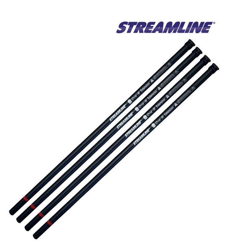 STREAMLINE® OVA8® pole extensions - 30ft to 50ft