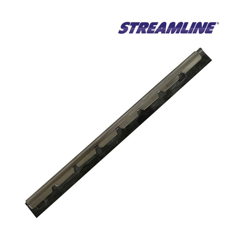 Stainless Steel Channel with soft rubber (25cm, 10inch)