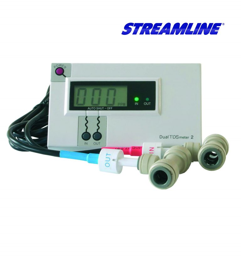H M Digital Commercial In-Line Dual TDS Meter